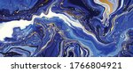 blue marble and gold abstract... | Shutterstock .eps vector #1766804921