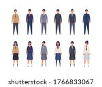 group of japanese students from ...   Shutterstock .eps vector #1766833067