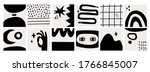 hand drawn various shapes and... | Shutterstock .eps vector #1766845007