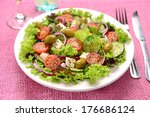 green salad | Shutterstock . vector #176686124
