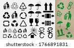 set of pictograms for the... | Shutterstock .eps vector #1766891831