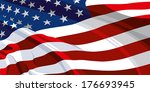 flag of the united states of... | Shutterstock .eps vector #176693945