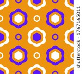 seamless pattern with a... | Shutterstock .eps vector #1767165011