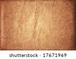old brown crumpled background | Shutterstock . vector #17671969