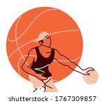 player man with ball design ...   Shutterstock .eps vector #1767309857