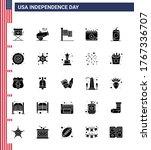 Pack Of 25 Usa Independence Da...