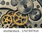 Clockwork Gears Wheels  Close...