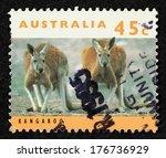 Australia   Circa 1994  Stamp...