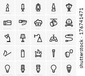 light sources | Shutterstock .eps vector #176741471