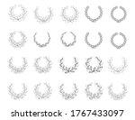 set of black and white... | Shutterstock .eps vector #1767433097