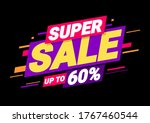 super sale of special offers.... | Shutterstock .eps vector #1767460544