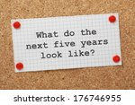 the question what do the next... | Shutterstock . vector #176746955