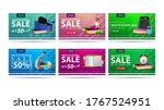 back to school sale  up to 50 ... | Shutterstock .eps vector #1767524951