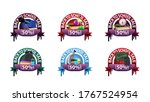 back to school sale  set round... | Shutterstock .eps vector #1767524954