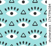 seamless pattern with repeating ... | Shutterstock .eps vector #1767596384
