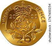 British Money Gold Coin Revers...