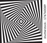 optical illusion art circle... | Shutterstock .eps vector #176760089