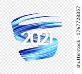 vector illustration  happy new... | Shutterstock .eps vector #1767728357