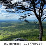 The view from Cheaha State Park in Alabama