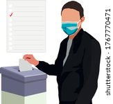 quarantine elections political... | Shutterstock .eps vector #1767770471