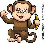 monkey clipart  monkey jpg ... | Shutterstock . vector #1767796061