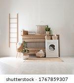 Modern Washing Machine And...