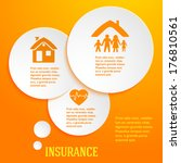 modern design style infographic ... | Shutterstock .eps vector #176810561
