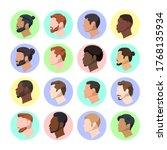 set vector illustration... | Shutterstock .eps vector #1768135934