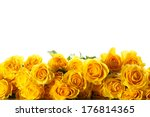 Bouquet Of Beautiful Roses On ...