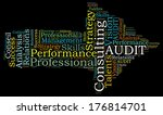 consulting word cloud | Shutterstock . vector #176814701