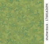 khaki repeated artistic... | Shutterstock .eps vector #1768162694