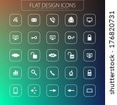 flat design   icons pack....