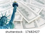 Statue Of Liberty On 100 Us...