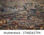 Aerial View Of Alanya At Sunse...
