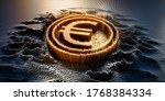Euro Symbol In A Digital Raster ...