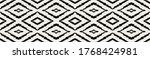 ikat geometric folklore... | Shutterstock .eps vector #1768424981