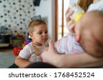 Small Caucasian Child Two Year...