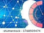 good mood meter measure... | Shutterstock . vector #1768505474