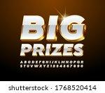 vector promo banner big prizes... | Shutterstock .eps vector #1768520414
