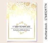 romantic wedding invitation... | Shutterstock .eps vector #1768529774