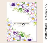 romantic wedding invitation... | Shutterstock .eps vector #1768529777