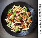 ������, ������: Eggplant chilli and tomato