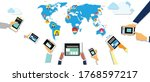 iot internet of things that... | Shutterstock .eps vector #1768597217