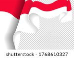 indonesia flag  vector... | Shutterstock .eps vector #1768610327