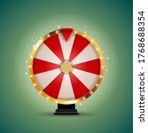 wheel of fortune  lucky icon. ... | Shutterstock . vector #1768688354