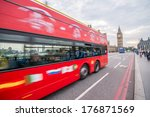 london   sep 14  2013  red... | Shutterstock . vector #176871569