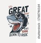 typography slogan with cartoon... | Shutterstock .eps vector #1768746164
