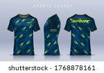 t shirt sport design template ... | Shutterstock .eps vector #1768878161