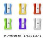 Sharpeners Coloured Plastic...