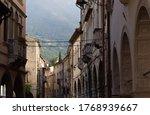 The old village of Serravalle, Vittorio Veneto, Italy